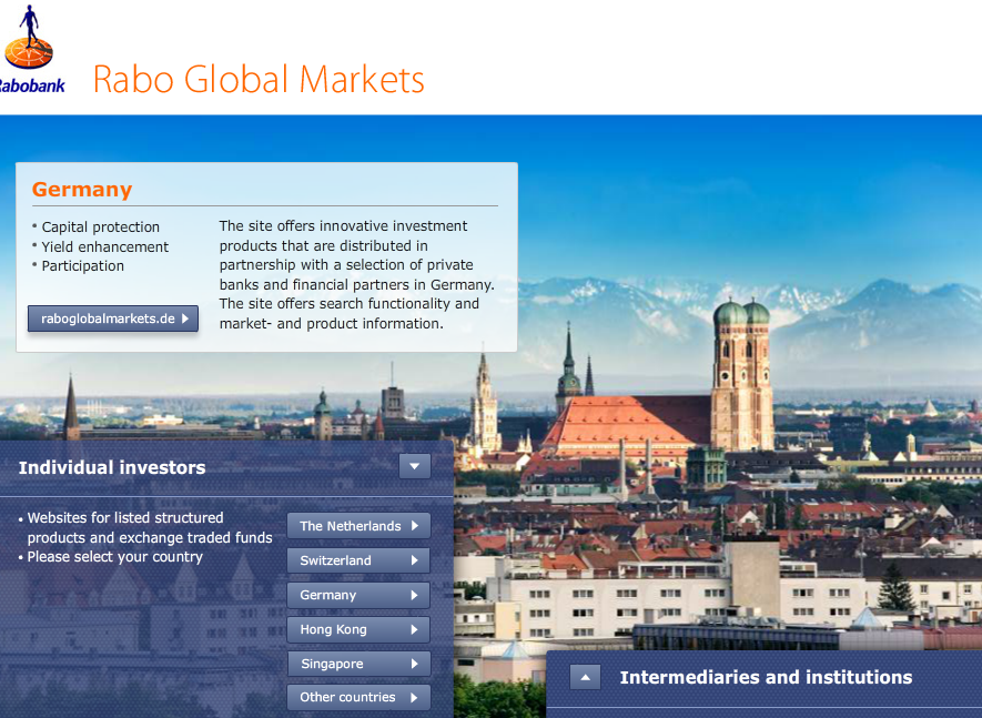 rabobank structured products