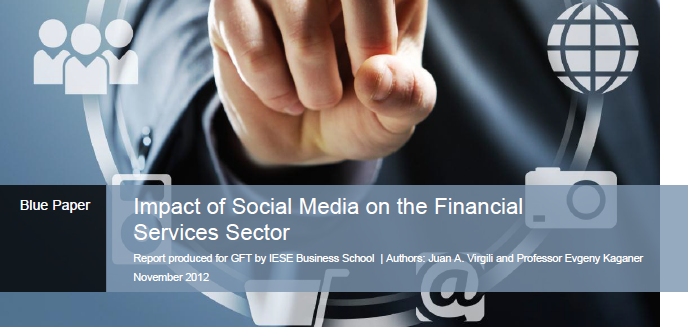 blue paper impact of social media on the financial sector