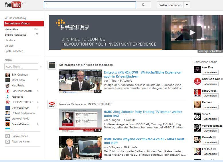 leonteq youtube werbung