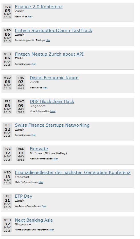 fintech events mai