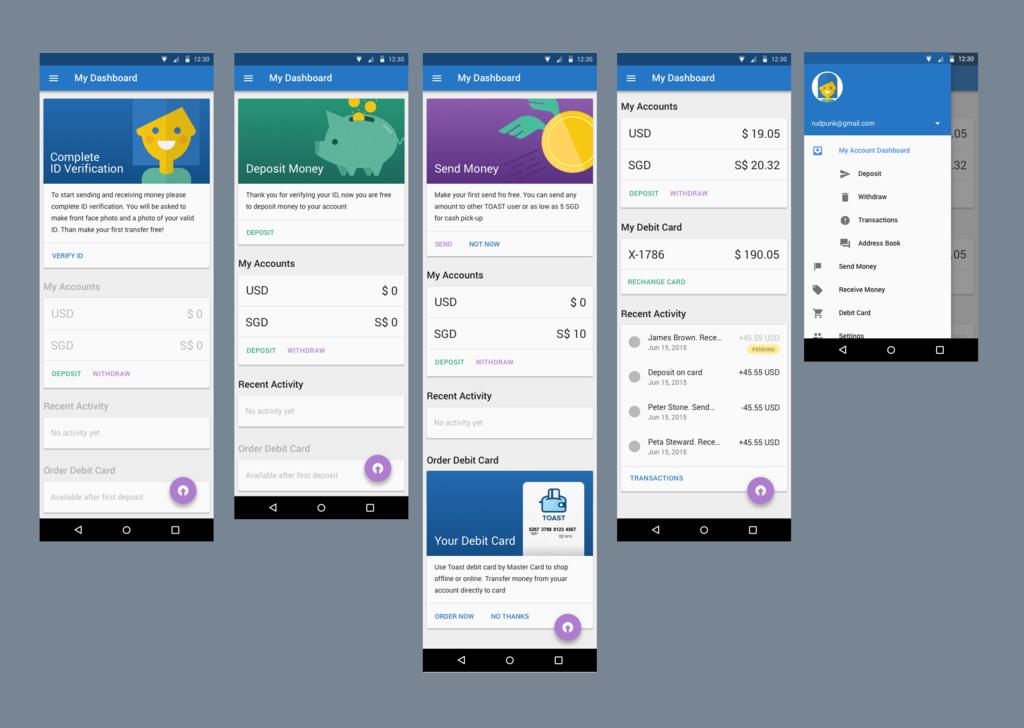 Toast Android App