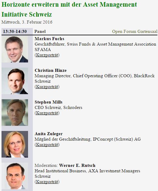 Horizonte erweitern Asset Management Intitiative Finanzmesse