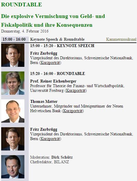 Roundtable Fiskalpolitik Finanzmesse