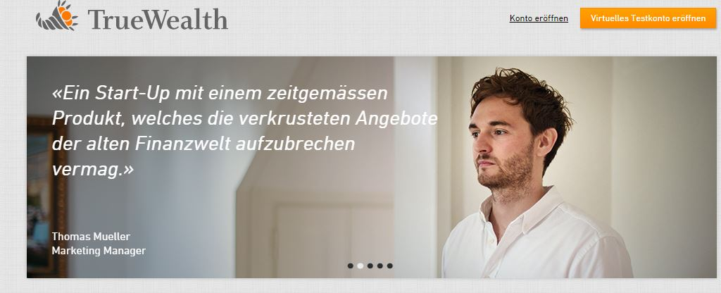 Truewealth Webpage