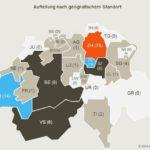 Fintech Studie Schweiz Geographisch