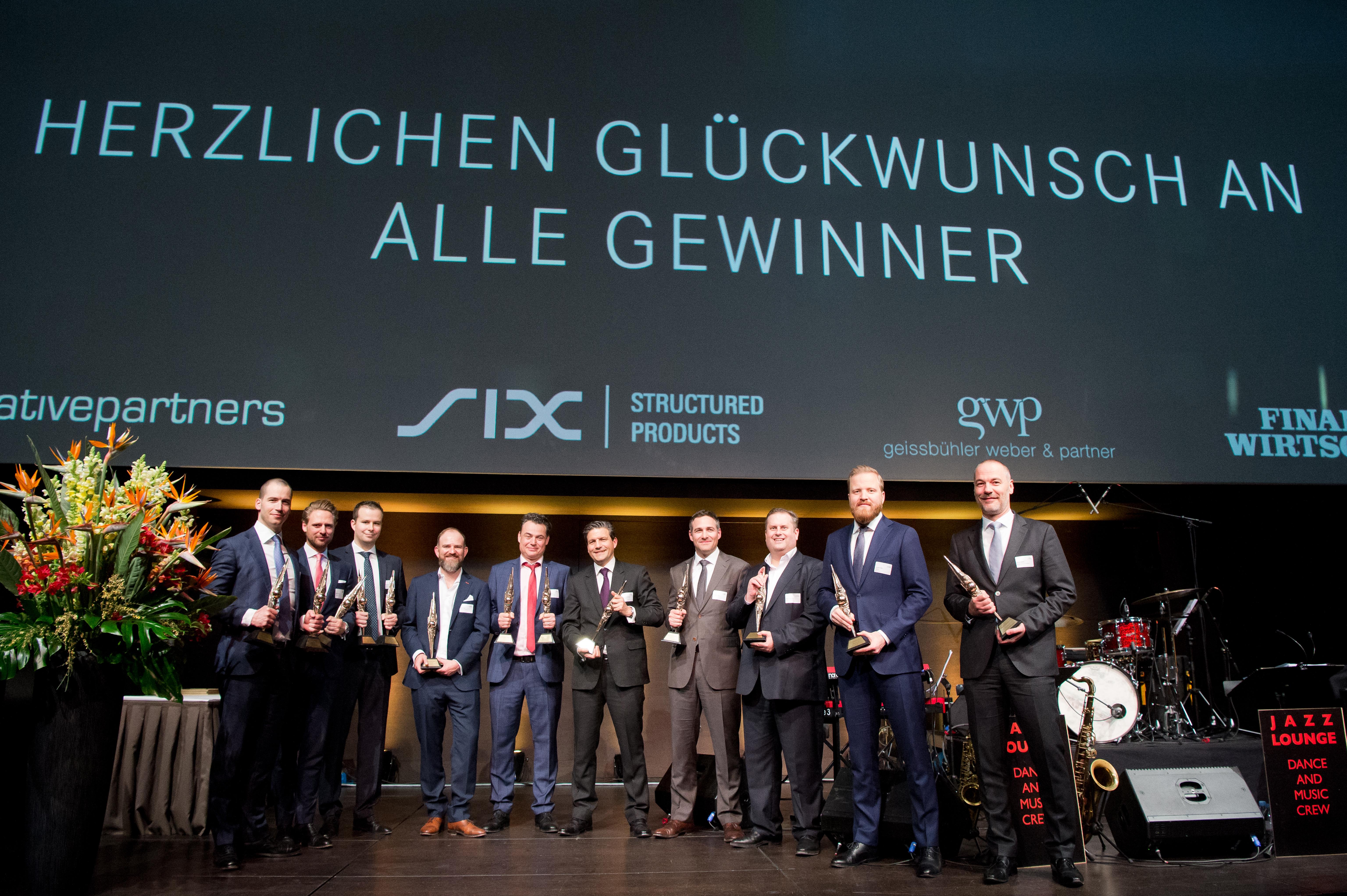 Swiss Derivative Awards2018 Winner