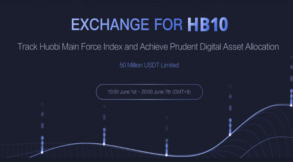 HUOBI 10 Index Tracker Product, HB10 Will Launch for Subscription on June 1st