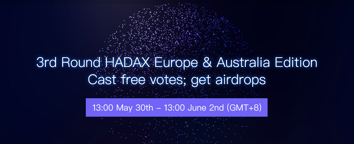 Huobi HADAX Launches 'Europe & Australia Edition'