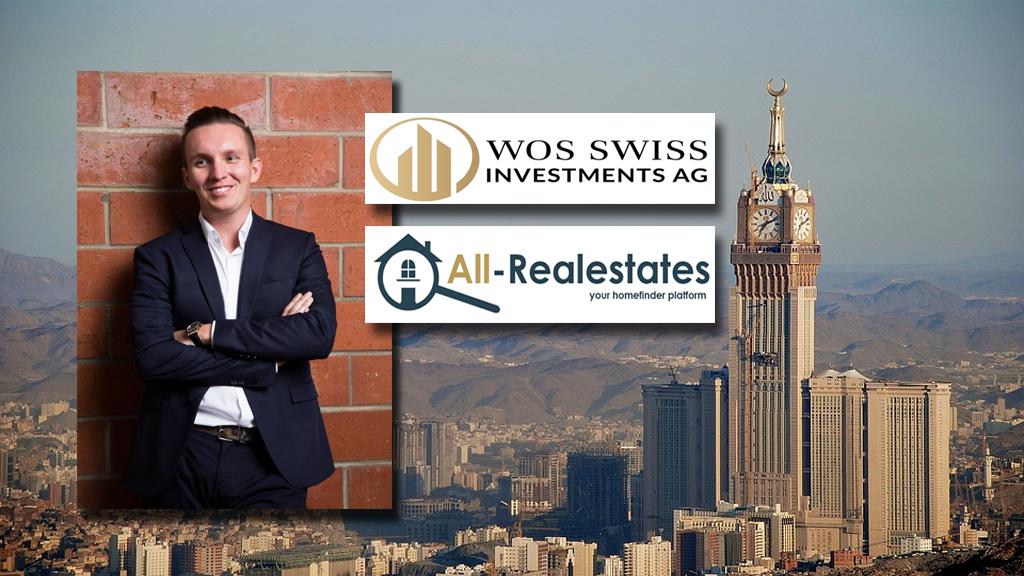 Thomas Wos kündigt ein Investment in den Vereinigten Arabischen Emiraten an