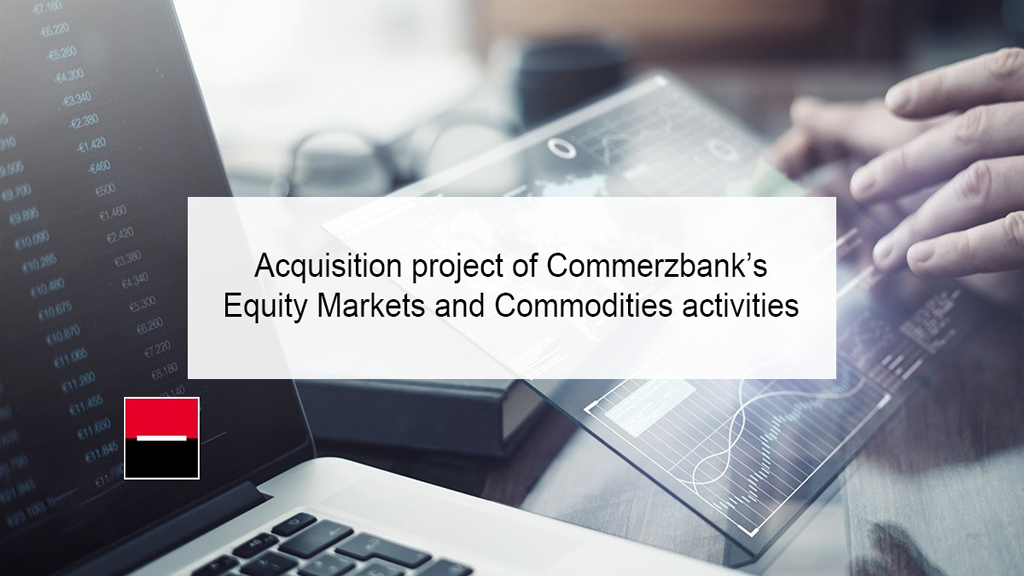 Societe Generale reaches an agreement with Commerzbank