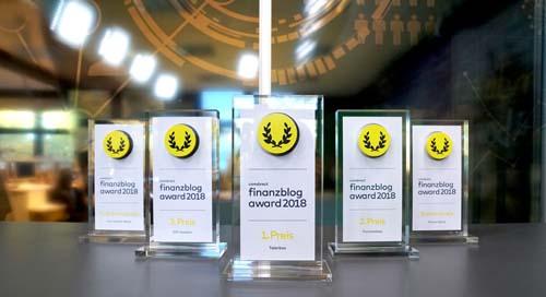 Die Gewinner Des Comdirect Finanzblog Awards 2018
