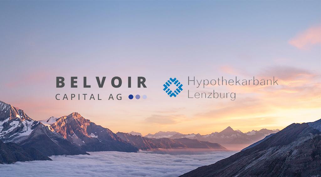 Digitale Fondsplattform Belvoir Direct kooperiert mit Hypothekarbank Lenzburg