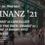 Die Finanzmesse findet 2021 nicht statt